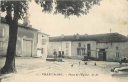 54 VILLEY LE SEC PLace De L'église CPA - France