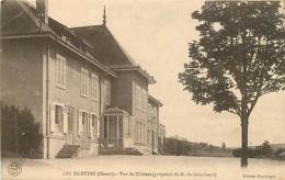 55 LES ISLETTES Vue Du Château (propriété De M. Du Grandrupt) CPA Ed. Huntzinger - Andere Gemeenten