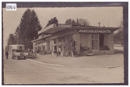 DISTRICT DE ROLLE - ROLLE - AMEUBLEMENT L. MOINAT - B ( GLACAGE DE LA PHOTO FENDU ) - VD Vaud