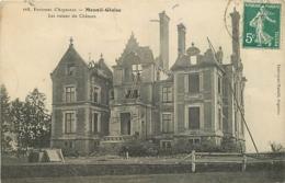 61 MESNIL GLAISE Les Ruines Du Château CPA Ed Chalumeau-Michelli 168 - France