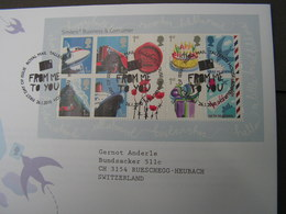 GB FDC 2010  Klbg.  2864-2873  € 16,00  Grußmarken - FDC