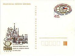 Czechoslovakia 1978 World Stamp Exhibition PRAGA - Set Of 7 Cards - Ansichtskarten