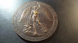Médaille Université Libre De Bruxelles. Hommage à Robert Courrier. - Belgique
