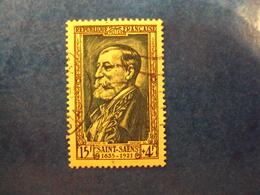 """1952-timbre Oblitéré N° 932     """"  Saint-saens        """"       Cote  8.5       Net   2.80 - Frankreich"""
