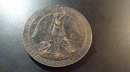Médaille Université Libre De Bruxelles. Hommage à L. Graulich 1941-1944 - Belgium