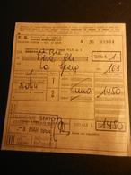 19843) FERROVIE ITALIANE BIGLIETTO TRENO GENOVA PISA 1964 - Chemins De Fer