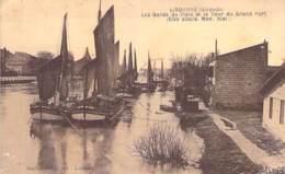 PENICHES Barge - 33 - LIBOURNE Bords De L'ISLE Et Tour Du Grand Port - CPA - Lastkähne Aken Chiatte Barcazas Barcaças - Embarcaciones