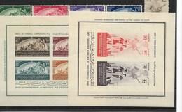 E166-EGYPT -1949 - CAT. MICHEL NUMMER  329-32+ BL 2-3 -MNH** - Egypt