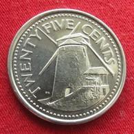 Barbados 25 Cents 2007 KM# 13a  Barbade Barbades - Barbades