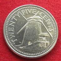 Barbados 25 Cents 2004 KM# 13  Barbade Barbades - Barbades