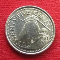 Barbados 25 Cents 2011 KM# 13a  Barbade Barbades - Barbades