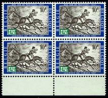 Belgien Belgie Belgium 1967 - Europatage Der Telekommunikation - MiNr 1476 / OBP Nr. 1422 Vierenblock. - Post