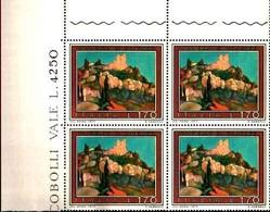 74870) ITALIA-QUARTINA..-Turismo - 4ª Emissione - 30 Maggio 1977 -MNH**SERIE COMPLETA - 6. 1946-.. Repubblica