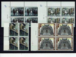 Belgien Belgie Belgium 1968 - 50. Jahrestag Des Waffenstillstandes - MiNr 1531-1534 / OBP 1474-1477 Vierenblock. - 1. Weltkrieg
