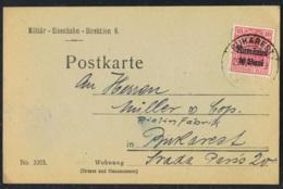 1918 1. März Militärverwaltung Rumänien Germania Mi DR-RUM 9  Sn RO 3N9  Yt RO OA27  AFA DR-RUM 9 - Lettere