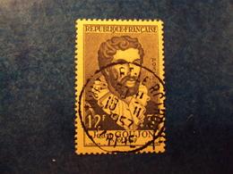 """1955  -timbre Oblitéré N° 1067     """"   Goujon       """"       Cote    7     Net     2.30 - Oblitérés"""