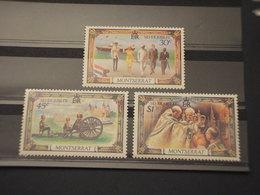 MONTSERRAT - 1977 REGINA 3 VALORI - NUOVI(++) - Montserrat