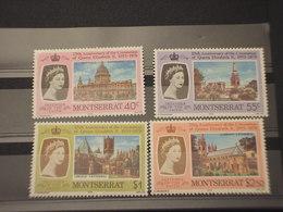 MONTSERRAT - 1978 REGINA  4 VALORI - NUOVI(++) - Montserrat