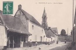PA : Maroeuil (62)   Rue De L'Eglise      Editeur Charles Ledieu   N° 27    Rare - Autres Communes