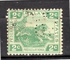Perfin (87) - Straits Settlements