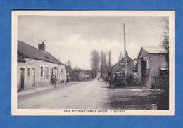 CPA - ROUESSé VASSé - Boulaire - 1938 - Café & Garage Automobile - Sarthe - Non Classificati