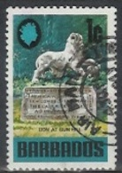 1970 1 Cent Lion At Gun Hill, Used - Barbados (1966-...)