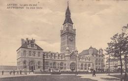 ANVERS. LA GARE DU SUD. E.LILOT. NON CIRCULEE CIRCA 1900s - BLEUP - Antwerpen