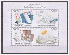 0534 Comores 2009 Klimaatverandering Climate Change S/S MNH - Milieubescherming & Klimaat