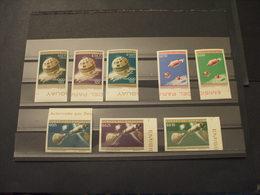 PARAGUAY - P.A. 1964 Olimpiadi Tokyo/telestar 8 VALORI  COLORI CAMBIATI  - NUOVI(++) - Paraguay