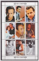 0538 Tuva 1999 Kevin Costner S/S MNH - Acteurs