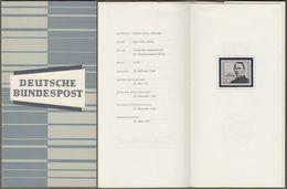 "Bund : Minister Card - Ministerkarte Typ III, Mi-Nr. 477 ** U. ESST : "" 100. Todestag Adolf Kolping "" !  R         X - Lettres & Documents"