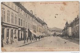 88 - Saint Dié - La Rue Thiers - Saint Die