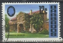 1970 12 Cents Museum, Used - Barbados (1966-...)