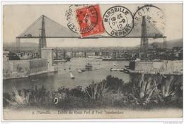 13 - Marseille - Entrée Du Vieux Port Et Pont Transbordeur - Vieux Port, Saint Victor, Le Panier