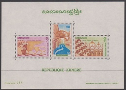 Cambodia Scott 277a Save Venice, Souvenir Sheet, Mint Never Hinged - Cambodia