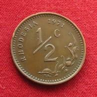 Rhodesia 1/2 Cent 1971 KM# 9 *V2  Rodesia Rhodesie - Rhodesia