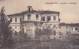 FRASSINETO PO-ALESSANDRIA-CONVITTO SAN GIUSEPPE-CARTOLINA VIAGGIATA-IL 21-3-1914 - Alessandria