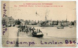 - 1829 - Barfleur -  ( Manche ) - Le Canot De Sauvetage A Son Arrivé à La Cale, écrite, 1924, épaisse, BE, Scans.. - Otros Municipios