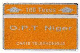 NIGER Ref Mvcards NGR-08 100T CN : 208B Année 1992 3000ex - Niger