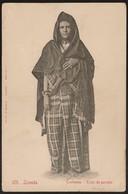 Postal Angola - Luanda - Loanda - Costumes - Traje De Passeio (Osorio & Seabra, Nº 125) CPA Animé Africa Etnique - Angola