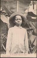 Postal São Tomé E Principe - Um Janota - Tipo De Tonga (Ed. A. Palanque, Nº14) - Postcard - CPA Animé Afrique Etnique - Sao Tome Et Principe