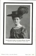 Grand Duchess Of Saxe-Weimar-Eisenach, Princess Caroline Reuss Of Greiz (1905) - Royal Families