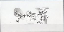 """MINI BF / """" TIMBRES PASSION 2018-périgueux """"/ DOCUMENT Philapostel / RARE - Commemorative Labels"""