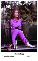 DIANA RIGG - Film Star Pin Up PHOTO POSTCARD- Publisher Swiftsure 2000 (E426/3) - Postales
