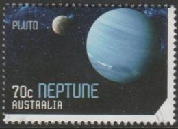AUSTRALIA - USED 2015 70c Stamp Collecting Month - Our Solar System - Neptune - 2010-... Elizabeth II