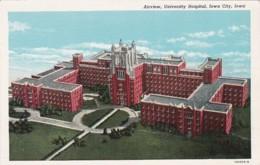 Iowa Iowa City Aerial View University Hospital Curteich - Iowa City
