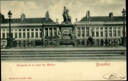 BRUXELLES : Monument De La Place Des Martyrs - Monuments, édifices
