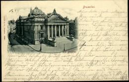 BRUXELLES : La Bourse 1898 - Monuments, édifices