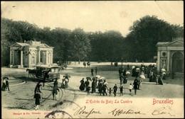 BRUXELLES :  L'Entrée Du Bois De La Cambre - Monuments, édifices