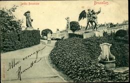 BRUXELLES : Jardin Botanique - Monuments, édifices